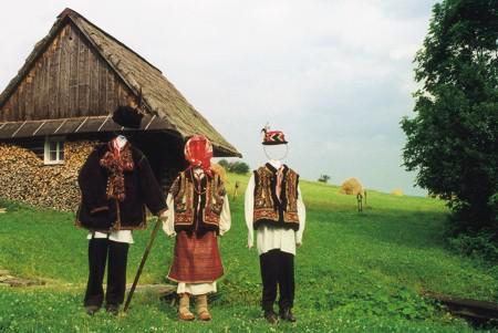 Część zbiorów huculskich, fot. A. Wielocha