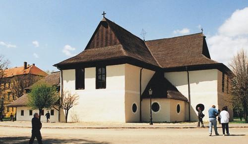 Kieżmark - stary kościół ewangelicki (fot. A. Wielocha)