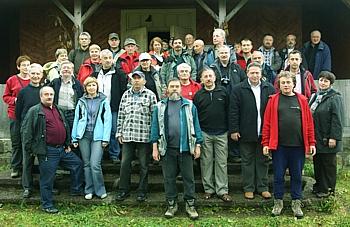 Uczestnicy sesji w Rafajłowej