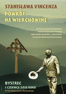 Stanisława Vincenza powrót na Wierchowinę