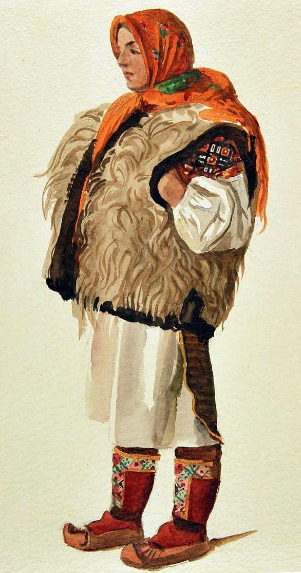 02_Huculka_W_Skoczylas_akwarela_1930